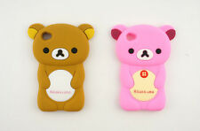 Cute 3D Cartoon Bear Silicone Back Cover Case for Apple iPod Touch 4G 4th 4 Gen