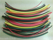 HEAT SHRINK TUBE/SLEEVING.6 SIZES & 12 COLOURS.A MUST FOR ALL RIG MAKING ANGLERS