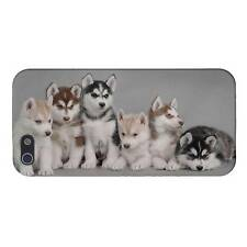 Siberian Husky Puppy Puppies Dog CUSTOM Cover Case Skin Phone 4/4S/5/5S/5C NEW