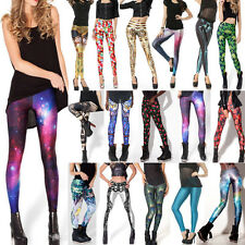 2Size 67 styles peacock tail&Star War& Galaxy &Mechanical Digital Print Leggings