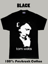 Tom Waits Rock And Roll Music Musician T Shirt Design tshirt printing custom tee