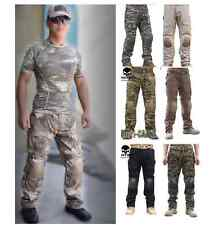 MILITARY ARMY TACTICAL AIRSOFT TACTICAL PANTS TROUSERS SWAT KNEE PAD # V56