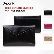 dpark Classic Genuine Leather Case Sleeve/Pouch For Microsoft Surface Pro 3 12''