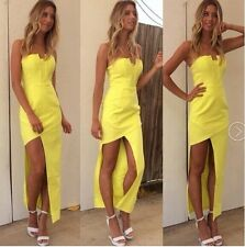 Top Fasion Natural Ankle-length Asymmetrical None 2014 Chest Sexy summer dress