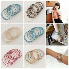 1set 20pcs 2014 New  Popular Lady Multilayers Multicolor Alloy Bracelet  A1591v