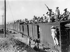 1900 YAQUI INDIAN SONORA MEXICO ARMY TRAIN PHOTO Historical Photo Largest Sizes