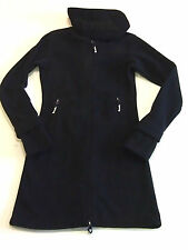 Bench Jacke Mantel Fleece long Funnel Neck schwarz Gr.S M L oder XL