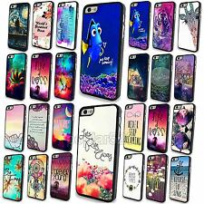 New For iPhone 4 4S 5 5S 5C Case Cover Skin Hard Back Painted Colorful Scenery
