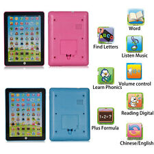 Multi-function English Learning Educational Computer Pad Kids Children Easy Toy