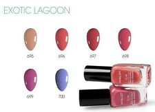 INGLOT O2M NAIL ENAMEL Exotic Lagoon 695-700 Breathable Varnish Polish Halal