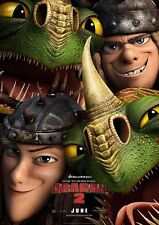 Movie Poster Print - How to Train Your Dragon 2 - A3 / A4