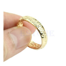 For Lord of the Rings The One Band Gold Plated Size 7 8 9 10 For LOTR Rings HOT