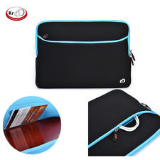 Kroo Neoprene Sleeve W/POCKET for 13.3 inch Laptops Notebooks