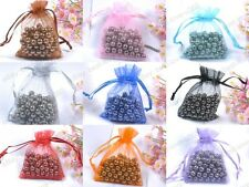 10pcs Organza Gift Bag Jewelry Packing Pouch Wedding Favor Gift Bags Any Color