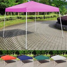 8'X8' EZ POP UP Wedding Party Tent Folding Gazebo Beach Canopy W/Carry Bag