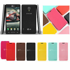 GOOSPERY Fancy Slim Flip Cover Case Pouch for LG OPTIMUS F7 US780 (1card pocket)