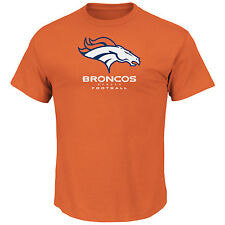 Denver Broncos MENS Shirt T-Shirt Critical Victory VIII by Majestic Athletic
