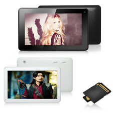 "10.1"" Android 4.4 KitKat Tablet PC Quad Core Bluetooth HDMI GPS FM 8G W/ TF Card"