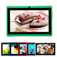 "Multi-color 7"" Android 4.4 Dual Core Camera Tablet PC 4GB/8GB A23 + Keyboard"