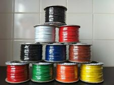 MODEL RAILWAY WIRE - 1.4 AMP - BIG RANGE OF COLOURS - YOU CHOOSE THE LENGTH