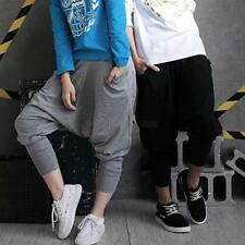 Womens Mens Harem Baggy Hip Hop Dance Sport Sweat Pants Casual Trousers Slacks