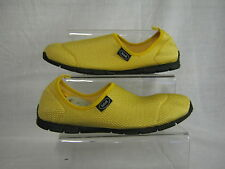 Dr Scholls Slip-on Women Yellow Textile Shoe Excursion
