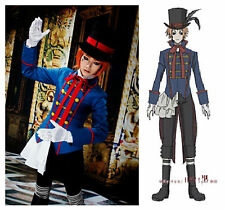 Black Butler Kuroshitsuji Drocell Caines Cosplay costume customize made Unsex
