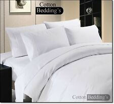 Real 800 1000 1200 TC 100% Egyptian Cotton US Size Hotel White in Striped