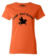 NEW Camp Half Blood WOMAN T-SHIRT Long Island Sound Greek Gods Mythology tee