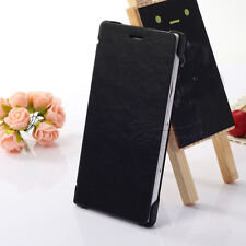 Luxury Leather Flip Book Case Hard Cover For Huawei Ascend P7