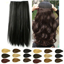 cheap price clip in hair extensions Real quality natural design hair 9 color am9