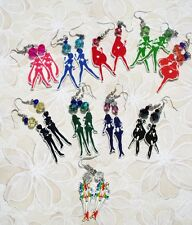 Sailor Scouts Silhouette Earrings