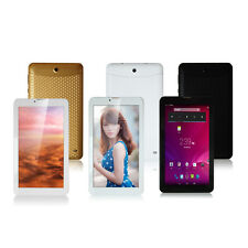 "7"" Dual SIM 2G GSM Android 4.2 Phablet Tablet PC 4GB Dual Core Cam Bluetooth GPS"