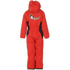 BOYS NO FEAR RED SKI WINTER THERMAL WINDPROOF SUIT AGE 2/3 3/4 4/5 5/6 NEW