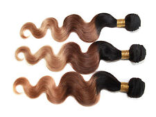 Ombre Body Wave Remy Hair BRAZILIAN Virgin Human Hair Extensions  Hot Selling