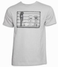 Minecraft Lineup Silver Color Youth's Official Licensed T-Shirt