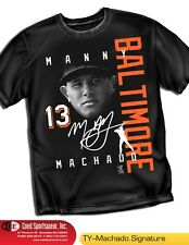 Manny Machado Baltimore Orioles Star Signature Shirt