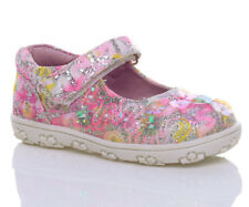 GIRLS KIDS CHILDRENS VELCRO BEADED GLITTER SEQUIN TRAINERS PUMPS SHOES SIZE