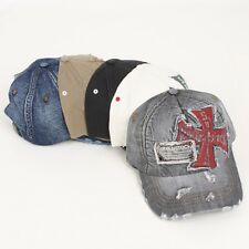 Baseball Cap Sports Casual Fashion Denim Vintage Look Jean Hat Trucker Hat Army