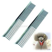 HQ Comb Long Hair Shedding Grooming Flea Comb Pet Puppy Dog Cat Stainless Steel