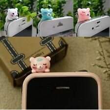 1Pcs New Cute Cat Dust Plug Audio Jack Earphone Cell Phones Bottom Stopper Cover