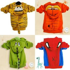 Cute Cartoon Spider-Man , Dinosaur , Tigger , Garfield Children Coat Jacket