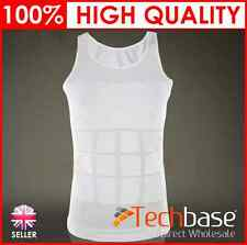 New Mens compression Vest All Sizes, Mans Tight Slimming Body Shaper Vest