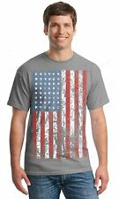 NEW vintage American Flag T-SHIRT American Patriotism USA flag men's tee
