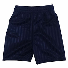 Children Kid Boy Girl PE School Football Sport Shadow Stripe Shaded Gym Shorts