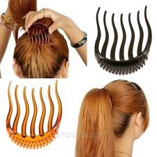 2014 New Volume Inserts Hair Clip Bumpits Bouffant Ponytail Hair Comb Bun Makers