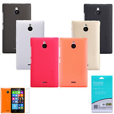 New Nillkin Frosted Matte Hard Back Cover Case Shield + LCD Film For Nokia X2