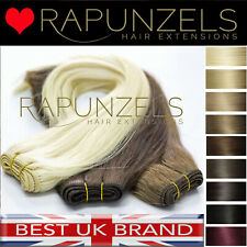 "3ft half head remy human hair extensions DIY weave/weft 16"" 20"" & 24"" 65grams"