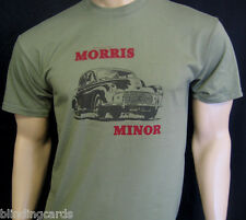 Morris Minor Classic Car Shirt - In Blue, Green Or Khaki - S, M, L, XL & XXL