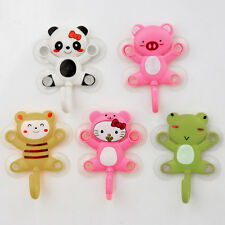 Cheap Durable Animal Cartoon Design Bathroom Suction Hook Shower Towel Wall Hot
